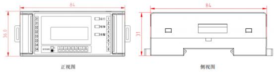 ARCM20 L45电气火灾监控装置